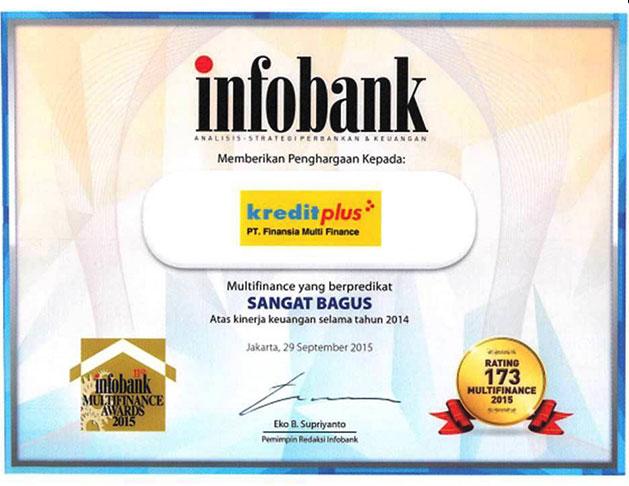 2014 - Multi Finance Terbaik Versi Infobank
