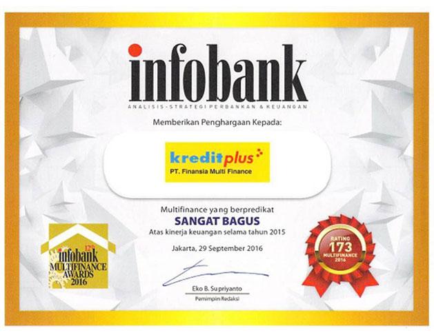 2015 - Multi Finance Terbaik Versi Infobank